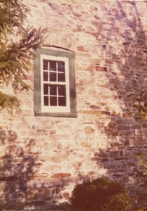 Old Window in Abraham LaRue's house